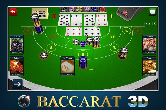 baccarat games online free