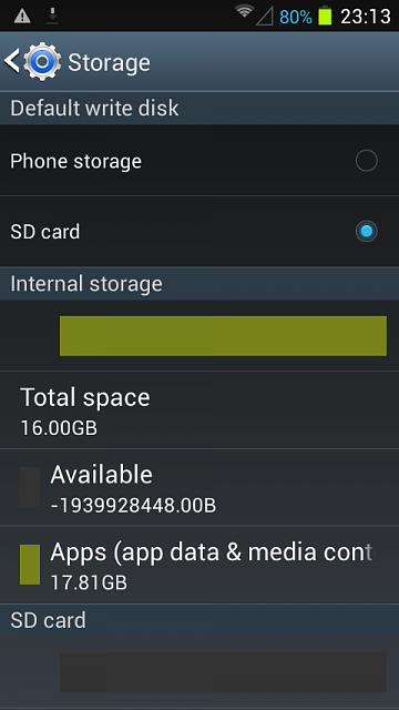 Insufficient Disk Space 9900 Problem Android Forums