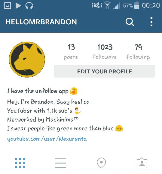 How to get the iPhone navigation bar look to Instagram on android?-screenshot_2014-08-26-00-20-12-1.jpg