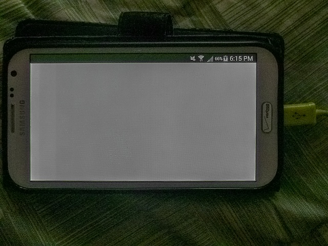 Samsung Galaxy Note 2 - Top 2 layers of the screen is brigher than the rest of the screen.-img_1251.jpg