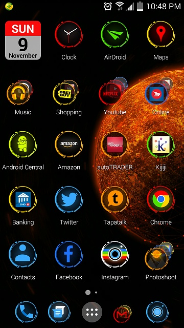 Mi launcher on S4...cool :)-uploadfromtaptalk1415592540593.jpg
