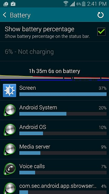 Why is my phone battery losing power so quickly since I did a reboot (S5)?-screenshot_2014-11-26-14-41-26.jpg