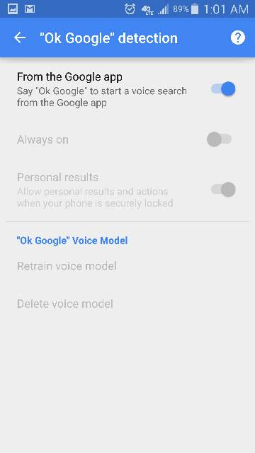 """Cannot select """"Always On"""" detection on """"Ok Google"""" since 5.0.1 update.-screenshot_2015-03-26-01-01-07.jpg"""