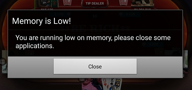 """Anyone getting a mesage saying, """"Low memory."""" on the Galaxy S6?-low-memory-1-.jpg"""