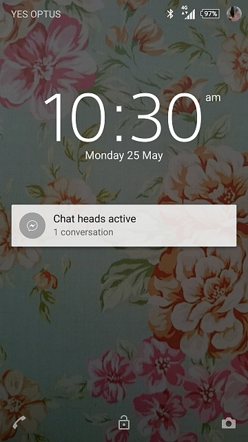 what is chat heads active
