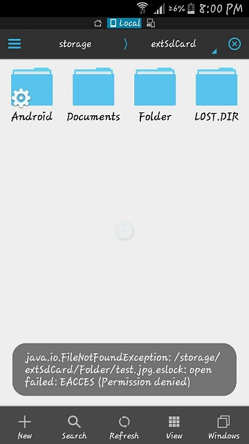 Micro SD Encrypt w/ ES File Manager - Android Forums at
