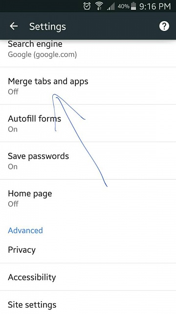 Why won't my Note 4 let me close tabs, just add on default in the browser?-1434590253942.jpg