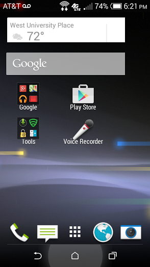 Why is my homescreen border being cut off?-phonescreenshot.png