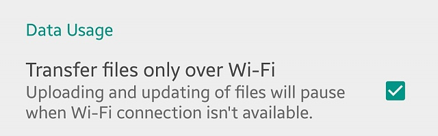Why do I get the message'waiting for wifi to upload' when I try to