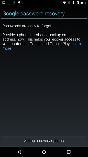 Why am I getting a popup in play store about recovery code?-screenshot_2015-11-29-16-14-49.jpg