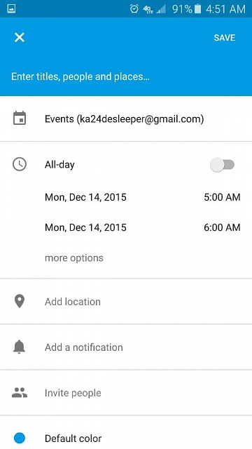 Is there an event alarm on the Samsung 6S?-1450090347411.jpg