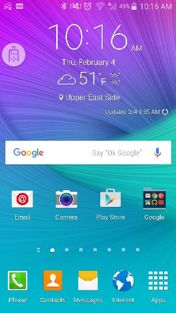 little remote control icon on my samsung note 4 screen.-screenshot_2016-02-04-10-16-10.jpg
