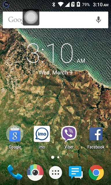 What is the tiny white circle on top of my phone and how can I get rid of it?-1597.jpg