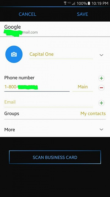 How do I store more than one phone number to one contace in my Samsung Note 5 ?-1462760452892.jpg