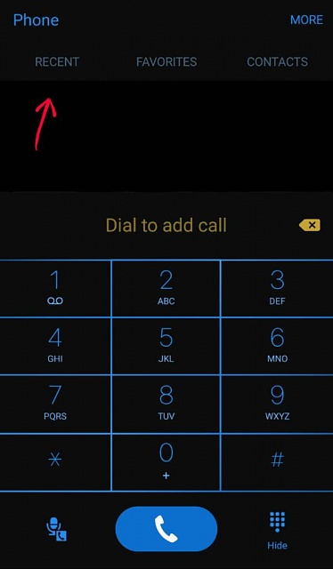 No option to view call history while on phone call. Note 5-1464830813384.jpg