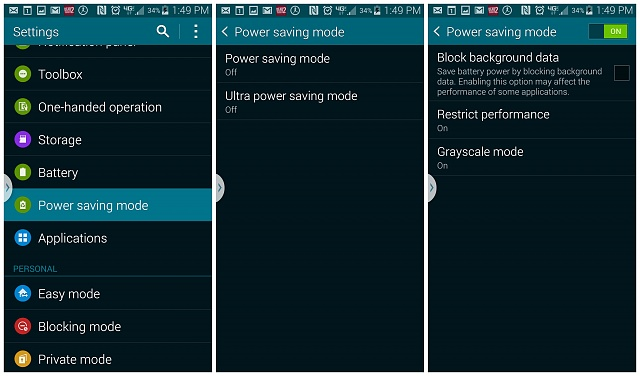 After latest update, where did grayscale mode go?-galaxy-s5-power-saving-mode.jpg
