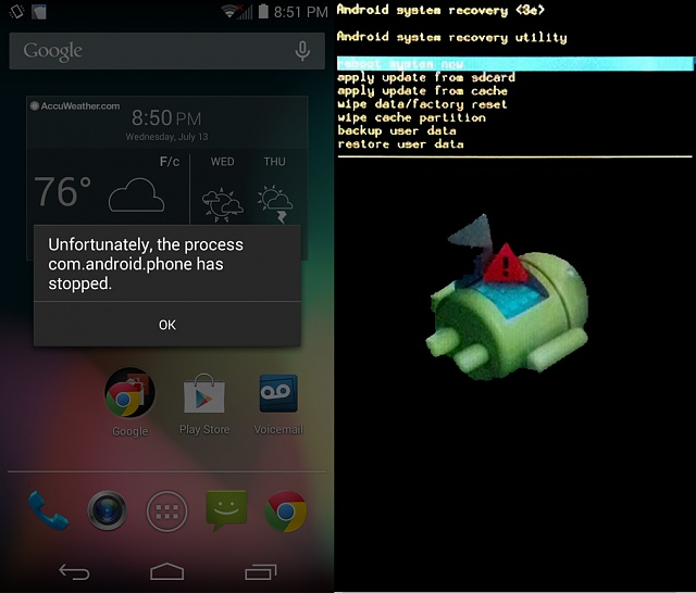 is it true?Unfortunately The Process Com Android Phone Has