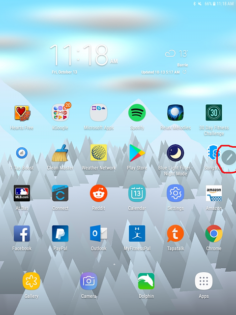 How do I get rid of this floating icon? - Android Forums at