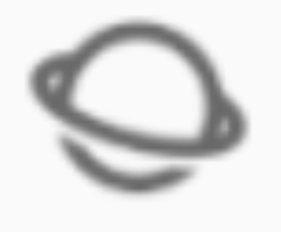 App in notification bar: Circle with Ring around it (Saturn Like)-saturn.png