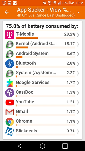 Battery draining quickly - Android Forums at AndroidCentral com