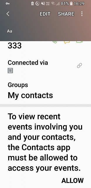 how can i hide recent messages or calls between me and a contact in contact view?-screenshot_20171224-162907.jpg
