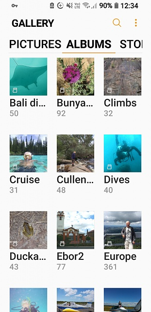 how do I change my gallery albums from list to grid view on Galaxy S7 Edge-screenshot_20180217-123412.jpg