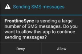 How can I get Nougat 7.1.1 to allow multiple SMS messages-texterror.jpg