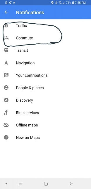 Google feed doesnt show time to leave or weather cards-20180707_195554.jpg