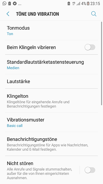"""Mobile phone volume control permanently set to """"call volume"""", caused by which app?-screenshot_20181103-231556.png"""