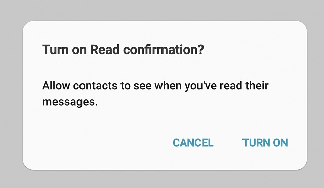Is there a way to stop the popup prompt to turn on Read confirmation?-screenshot_20181128-080224_messages.jpg