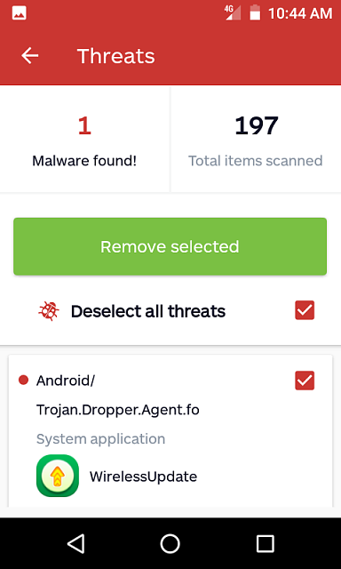 How do I Remove the Malware Named Android/Trojan.Doppler.Agent.fo ?-screenshot_20181227-threat.png