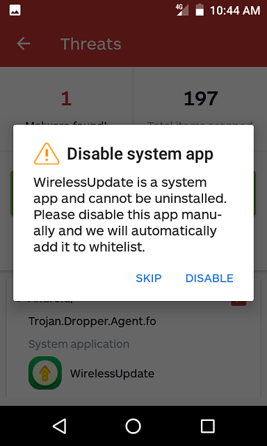 How do I Remove the Malware Named Android/Trojan.Doppler.Agent.fo ?-screenshot_20181227-disable_system_app.png