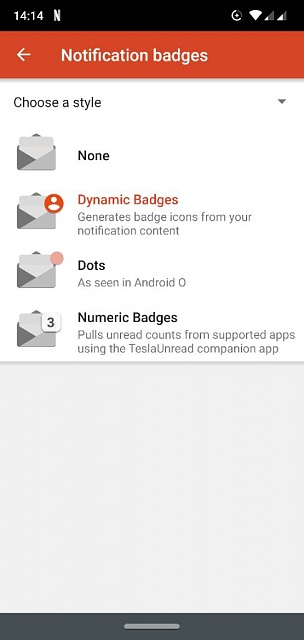How to customize Nova Launcher Badge Notification - Android