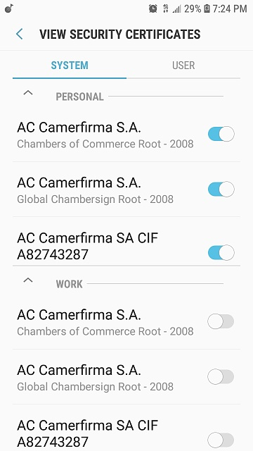 Why is there 2 sets of certificates on my j7 star phone-screenshot_20190824-192406_settings.jpg