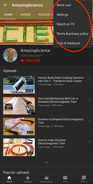 YouTube app version 14.40.52      no more channel share...-wire-2019-10-17-10_03-am.jpg