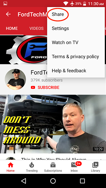YouTube app version 14.40.52      no more channel share...-screenshot_20191017-113020.png