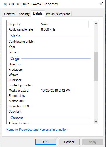 Why doesn't the create date correspond to the date in details?  There is a 5 hour difference.-screenshot-1-.png