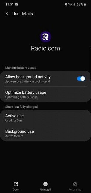 s9 cuts out streaming after 5 minutes or less-screenshot_20191119-235117_settings.jpeg