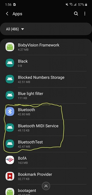 Galaxy a8 2018 android ver 9 unable to remove a device from bluetooth list-20200110_135651.jpeg