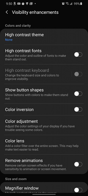 how do I change my S20 from black and white back to color-screenshot_20200320-095004_accessibility.jpeg