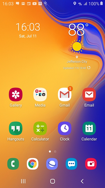 Why weather & clock widget is not on the home screen of Samsung GalaxyJ2 Core?-screenshot_20200711-160358_one-ui-home.jpg