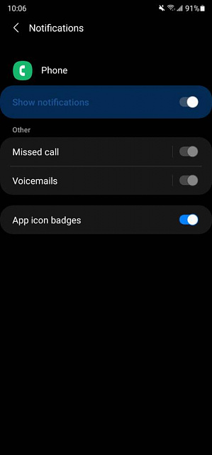 How do I enable voicemail notifications on my Samsung Galaxy a51?-screenshot_20210206-100643_settings.jpg
