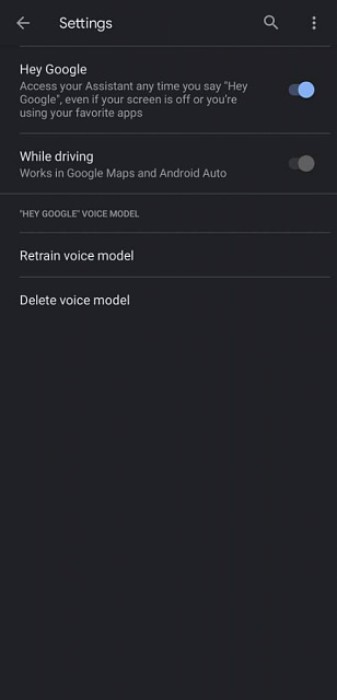 Android auto, google maps, searching for a location now talks, and it's annoying-screenshot_20210505-005740_google.jpg