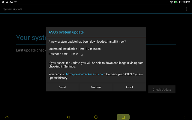 New MeMO Pad HD7 - cannot install update    - Android Forums at