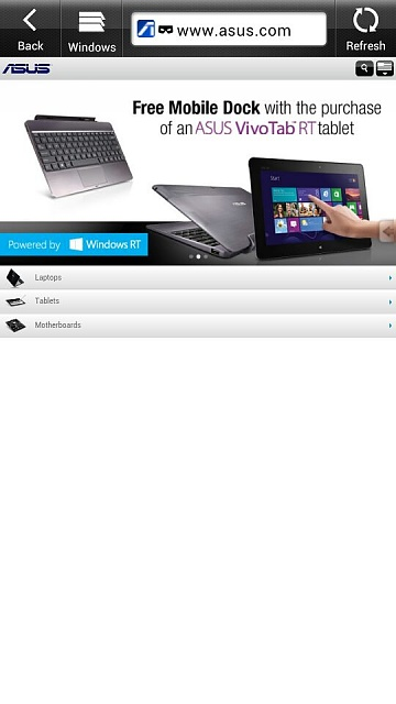 Hey everyone! Did you know we could get Windows 8 on our tablets?-uploadfromtaptalk1356680345478.jpg