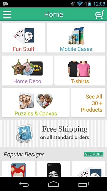 [FREE APP] Pic2Press-Create Personalized Photo Gifts-home.jpg