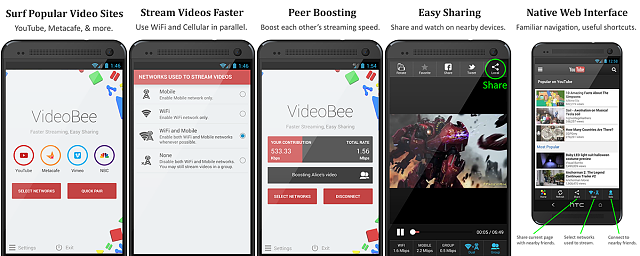 [APP][2.3.3+][Free] VideoBee: Faster Streaming, Easy Sharing-screens.png
