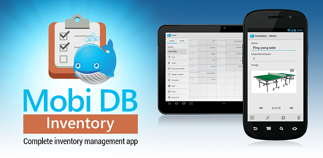 FREE] [APP] Mobi DB Inventory – catalogue and manage assets