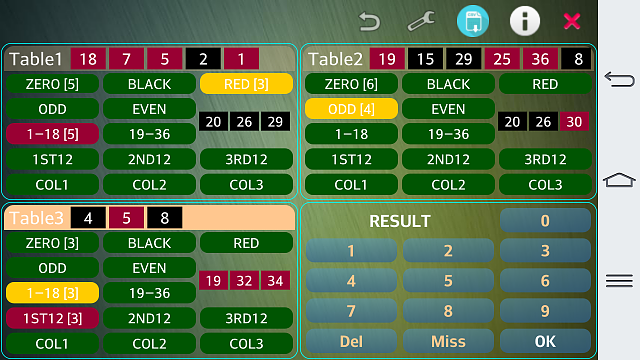 FREE] Multi Roulette Bet Counter & Predictor - Android Forums at
