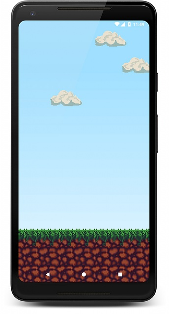 [Live Wallpaper] Pixel-style Live Wallpaper with dynamic sky (location-based)-screenshot_1533988171_framed.jpg